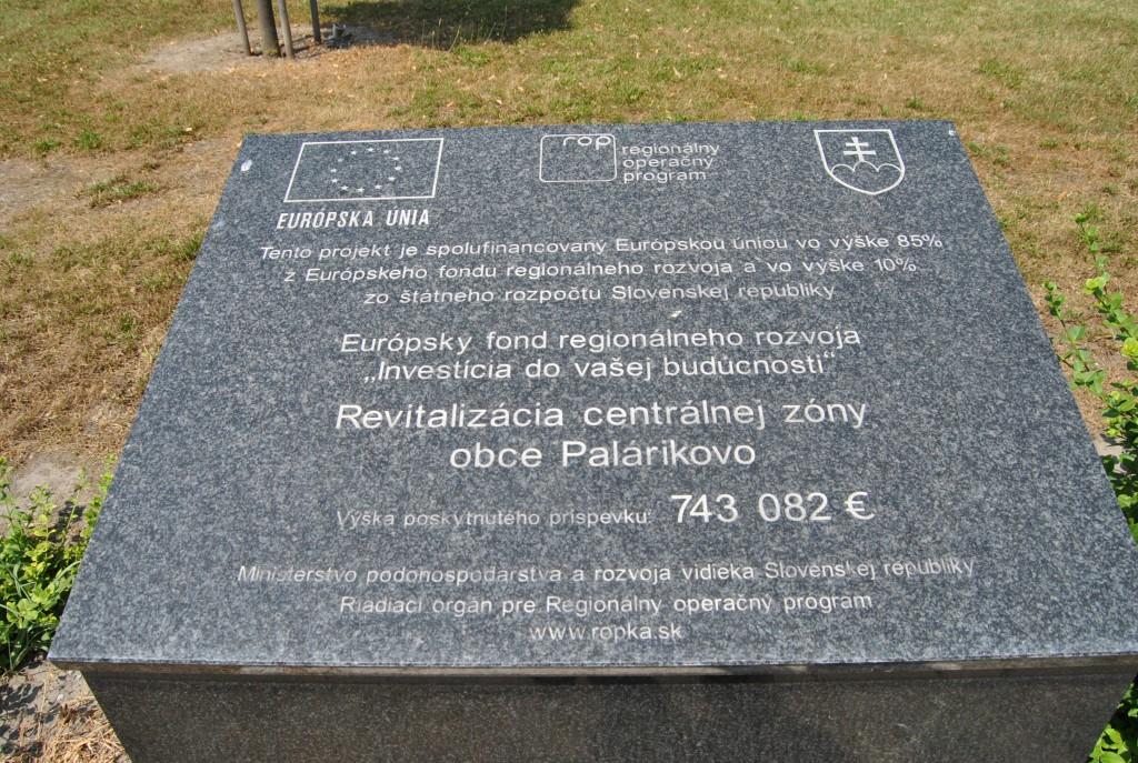 Palárikovo - ROP