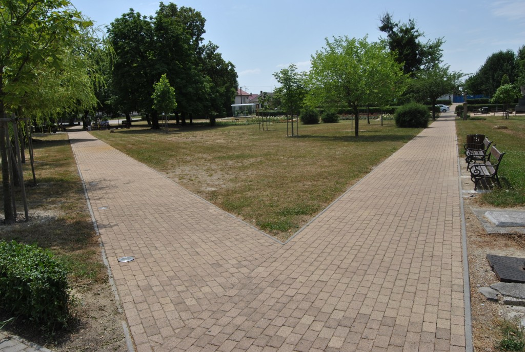 Palárikovo- park