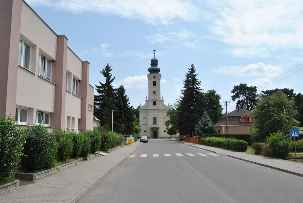 Palárikovo - Kostol sv. Jána Nepomuckého