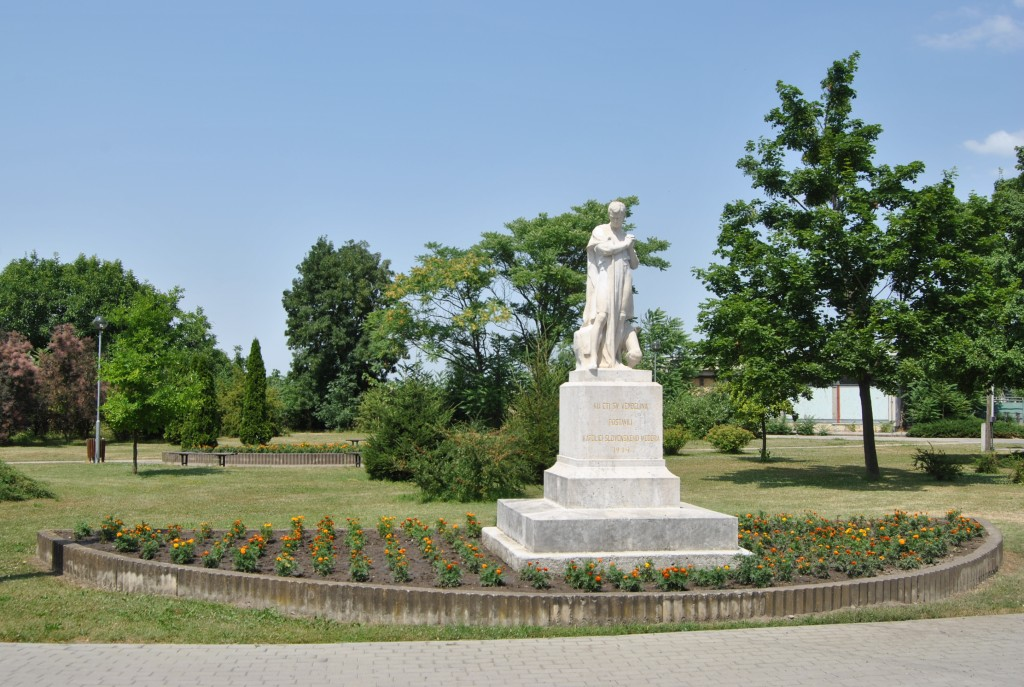 Palárikovo - socha sv. Vendelína
